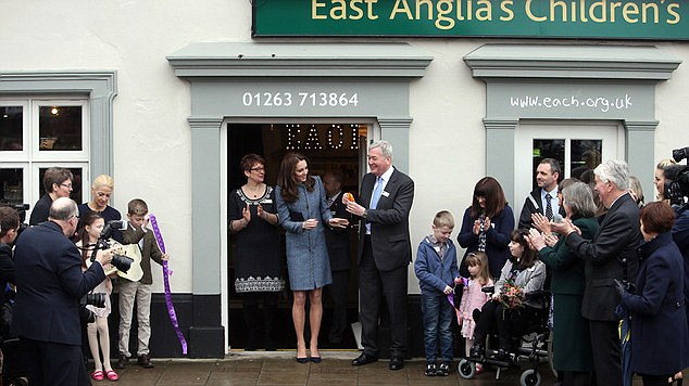In a letter of support for Children's Hospice Week the Duchess has praised the 'amazing and life-changing' work hospices such as EACH do