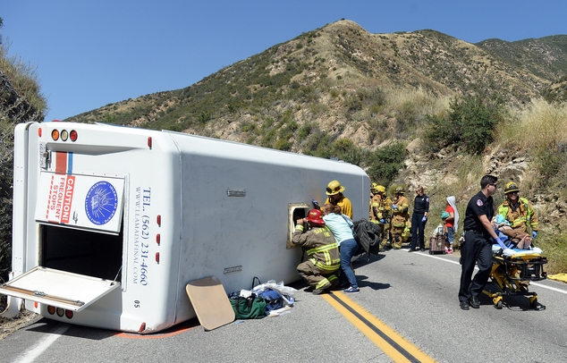 Approximately 20 people were injured, 4 with major injuries, after a small tour bus crashed and rolled over on highway 330 approximately 2 miles north of the...