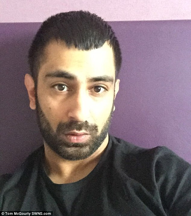 Anwaar (pictured) made Gemma burn 500 calories every single day on the treadmill, despite her telling him that it was not the best way to achieve a body like the celebrity women he fancied