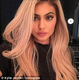 Hair they are: Amber's feud with the Kardashian family went up a notch when Tyga immediately began seeing Kylie Jenner after ending his relationship with former stripper Blac Chyna in 2014