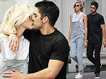 Picture Shows: Devon Windsor  May 30, 2016    Model Devon Windsor was spotted out with a mystery man in New York City, New York. The two were hand in hand while they strolled around the city.     Non Exclusive  UK RIGHTS ONLY    Pictures by : FameFlynet UK © 2016  Tel : +44 (0)20 3551 5049  Email : info@fameflynet.uk.com