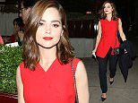 Christian Dior Cruise 2016/17 - afterparty at LouLou's private members club in London.  Pictured: Jenna Coleman Ref: SPL1291291  310516   Picture by: Splash News  Splash News and Pictures Los Angeles: 310-821-2666 New York: 212-619-2666 London: 870-934-2666 photodesk@splashnews.com
