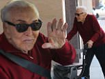 eURN: AD*208200753  Headline: A spry 99 year old Kirk Douglas waves goodbye after a trip to his doctor Caption: Beverly Hills, CA - Ninety nine-year-old actor, Kirk Douglas waves goodbye to the cameras after getting help into the car after a trip to a medical building in Beverly Hills. AKM-GSI   May 31, 2016 To License These Photos, Please Contact : Maria Buda (917) 242-1505 mbuda@akmgsi.com sales@akmgsi.com or  Mark Satter (317) 691-9592 msatter@akmgsi.com sales@akmgsi.com Photographer: HOCN Loaded on 31/05/2016 at 23:59 Copyright:  Provider: AKM-GSI-XPOSURE  Properties: RGB JPEG Image (19997K 2976K 6.7:1) 2133w x 3200h at 300 x 300 dpi  Routing: DM News : GeneralFeed (Miscellaneous) DM Showbiz : SHOWBIZ (Miscellaneous) DM Online : Online Previews (Miscellaneous), CMS Out (Miscellaneous)  Parking: