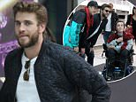EXCLUSIVE: Liam Hemsworth was spotted as he made his way to Darling Harbour's entertainment center, which is complete with an arcade, bowling alley, laser tag, and other forms of entertainment. The Hollywood heartthrob, probably bored by Sydney's recent spell of bad weather and rain, made the most of the rainy day by bringing his entourage to the entertainment center in Darling Harbour. As he made his way in he was recognized by a young disabled boy in a wheelchair who asked him to pose for a picture with him. Although Liam's minders did not allow him to take pictures with some fans who had been waiting further back, they made an exception for the little boy who seemed very appreciative. Miley was nowhere to be seen.\n\nPictured: LIAM HEMSWORTH\nRef: SPL1293599  310516   EXCLUSIVE\nPicture by: madmax\n\nSplash News and Pictures\nLos Angeles: 310-821-2666\nNew York: 212-619-2666\nLondon: 870-934-2666\nphotodesk@splashnews.com\n<