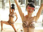 Bai Ling poses in a sexy swimsuit at the beach in Santa Monica, California.\n\nPictured: Bai Ling\nRef: SPL1293160  310516  \nPicture by: Sonia Hall / Splash News\n\nSplash News and Pictures\nLos Angeles: 310-821-2666\nNew York: 212-619-2666\nLondon: 870-934-2666\nphotodesk@splashnews.com\n