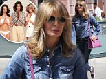 Picture Shows: Jaclyn Smith  May 31, 2016\n \n Jaclyn Smith was spotted out shopping in Beverly Hills, California. Jaclyn was wearing an outfit comprised entirely of denim and had a vibrant purple purse.\n \n Non Exclusive\n UK RIGHTS ONLY\n \n Pictures by : FameFlynet UK © 2016\n Tel : +44 (0)20 3551 5049\n Email : info@fameflynet.uk.com