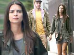153045, EXCLUSIVE: Emily Ratajkowski and her musician boyfriend of over a year, Jeff Magid, are seen getting an early morning coffee in LA. The couple wore color coordinated outfits for the outing as the pair rocked olive green jackets with Emily wearing yellow shoes, and Jeff wearing a yellow shirt. Los Angeles, California - Tuesday May 31, 2016. Photograph: © Miguel Aguilar, PacificCoastNews. Los Angeles Office: +1 310.822.0419 UK Office: +44 (0) 20 7421 6000 sales@pacificcoastnews.com FEE MUST BE AGREED PRIOR TO USAGE