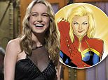 """SATURDAY NIGHT LIVE -- """"Brie Larson"""" Episode 1702 -- Pictured: Brie Larson during the monologue on May 7, 2016 -- (Photo by: Dana Edelson/NBC/NBCU Photo Bank via Getty Images)"""