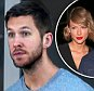 **EXCLUSIVE** Calvin Harris arrives at LAX.  Note the bruising on his right ear and he traveled with a fist aid kit.