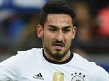 MANCHESTER, UNITED KINGDOM - JUNE 2: (FILE PHOTO) German international Ilkay Gundogan has been announced as Manchester City's new signing on June 2, 2016. PARIS, FRANCE - NOVEMBER 13:  Ilkay Guendogan of Germany controls the ball during the International Friendly match between France and Germany at the Stade de France on November 13, 2015 in Paris, France.  (Photo by Matthias Hangst/Bongarts/Getty Images)