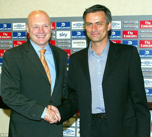 Peter Kenyon gave Jose Mourinho his first job in English football, appointing him as manager at Chelsea