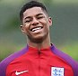 epa05340069 England striker Marcus Rashford during a training session of the English national soccer team in Watford, Britain, 01 June 2016. England play Portugal at Wembley on 02 June in their final warm up match ahead of the UEFA EURO 2016 in France.  EPA/ANDY RAIN
