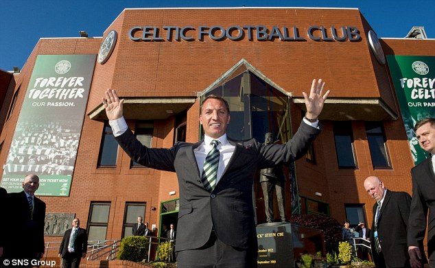 Johansen believes the appointment of former Liverpool boss Rodgers was 'a clear signal from Celtic'