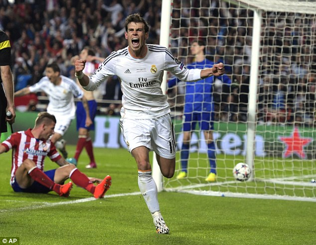 The Welshman scored in Los Blancos' last Champions League final victory over Atletico Madrid in 2014