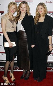 Mamie Gummer (L-R), Grace Gummer and Louisa Gummer