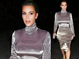 Encino, CA - Kim Kardashian is seen for a night out at the movies. The reality tv star is wearing a grey velvet dress that shows off her curves. \nAKM-GSI          June 1, 2016\nTo License These Photos, Please Contact :\nMaria Buda\n(917) 242-1505\nmbuda@akmgsi.com\nsales@akmgsi.com\nor \nMark Satter\n(317) 691-9592\nmsatter@akmgsi.com\nsales@akmgsi.com