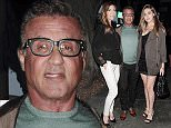 31 May 2016 - Los Angeles - USA\n*EXCLUSIVE ALL ROUND PICTURES*\nSylvester Stallone pauses to pose with his wife Jennofer Flavin and daughter Sophia for a photographer at Madeo restaurant Hollywood.\nByline Must Read: XPOSUREPHOTOS.COM\n** UK clients please pixelate children's faces prior to publication**\nFor content licensing please contact:\nXposure Photos\npictures@xposurephotos.com\n 44 (0) 208 344 2007