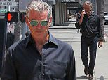 31.May.2016 - Beverly Hills ñ USA\n*** STRICTLY AVAILABLE FOR UK AND GERMANY USE ONLY ***\nBeverly Hills, CA - 'Remington Steele' star, Pierce Brosnan looks cool as can be as he walks to the public parking garage after running some errands in Beverly Hills.\nBYLINE MUST READ : AKM-GSI-XPOSURE\n***UK CLIENTS - PICTURES CONTAINING CHILDREN PLEASE PIXELATE FACE PRIOR TO PUBLICATION ***\n*UK CLIENTS MUST CALL PRIOR TO TV OR ONLINE USAGE PLEASE TELEPHONE 0208 344 2007*\n