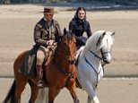 Picture Shows: Sam Claflin, Rachel Weisz  May 31, 2016    * WEB EXCL 24 HRS *    Rachel Weisz and Sam Claflin spotted strolling along the beach and riding horses while on the set of upcoming period drama 'My Cousin Rachel' in Devon, England.    Exclusive  WORLDWIDE RIGHTS    Pictures by : FameFlynet UK © 2016  Tel : +44 (0)20 3551 5049  Email : info@fameflynet.uk.com