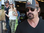 EXCLUSIVE. COLEMAN-RAYNER\nLos Angeles, CA. USA. May 29, 2016. \nNewly engaged Josh Brolin is seen having lunch with fiancee Kathryn Boyd at Whole Foods. The lovebirds announced their happy news last month after celebrating in Cabo San Lucas. They started dating in March 2013 after the blonde worked worked for two years as the actor's assistant.\nCREDIT LINE MUST READ: RF/Coleman-Rayner\nTel US (001) 310-474-4343- office\nTel US (001) 323-545-7584 - Mobile\nwww.coleman-rayner.com