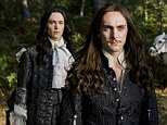 WARNING: Embargoed for publication until 00:00:01 on 24/05/2016 - Programme Name: Versailles - TX: n/a - Episode: n/a (No. n/a) - Picture Shows:  Philippe (ALEXANDER VLAHOS), Louis XIV (GEORGE BLAGDEN)  - (C) Canal + - Photographer: Canal+