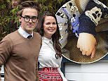 LONDON, ENGLAND - JUNE 1:  Tom Fletcher and his wife Giovanna Falcone seen leaving the ITV Studios after an appearance on 'Loose Women' on June 1, 2016 in London, England. (Photo by Alex Huckle/GC Images)