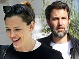 Jennifer Garner is pictured heading out from her home in London