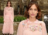 LONDON, ENGLAND - JUNE 02:  Alexa Chung attends the Gucci Cruise 2017 fashion show at the Cloisters of Westminster Abbey on June 2, 2016 in London, England.  (Photo by David M. Benett/Dave Benett/Getty Images for GUCCI)