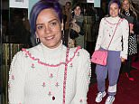 The Opening Night of 'The Spoils' held at the Trafalgar Studios - Arrivals\nFeaturing: Lily Allen\nWhere: London, United Kingdom\nWhen: 02 Jun 2016\nCredit: Mario Mitsis/WENN.com