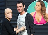 File photo dated 21/02/2009 of Jade Goody and Jack Tweed on the drive way of her home in Upshire, Essex. PRESS ASSOCAITION Photo. Issue date: Monday March 2, 2009. Jack Tweed, the husband of terminally-ill Jade Goody, will appear in court today accused of assaulting a taxi driver. Tweed, 21, of Buckhurst Hill, Essex, will face the charge at Epping Magistrates' Court, in Essex, said a court spokeswoman. See PA story COURTS Tweed. Photo credit should read: Chris Radburn/PA Wire . JADE GOODY DIED 22/3/2009