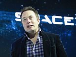 SpaceX CEO Elon Musk unveils SpaceX's new seven-seat Dragon V2 spacecraft, in Hawthorne, California, America.  The private spaceflight companys new manned space capsule will ferry NASA astronauts to and from the International Space Station. AFP PHOTO / Robyn BeckROBYN BECK/AFP/Getty Images