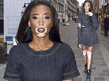 Picture Shows: Winnie Harlow  June 01, 2016    Celebrities arrive at the Magnum Pleasure store launch in London, England.    Non-Exclusive  WORLDWIDE RIGHTS     Pictures by : FameFlynet UK � 2016  Tel : +44 (0)20 3551 5049  Email : info@fameflynet.uk.com