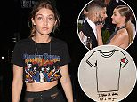 West Hollywood, CA - Kendall Jenner and her BFF Gigi Hadid step out after a night out at The Nice Guy in West Hollywood. The KUWTK star wore a graphic tee, high-waist sheer pants and matching underwear; while her newly single friend wore a similar graphic tee, high waist trousers with sheer panels, and black boots. AKM-GSI          June 2, 2016 To License These Photos, Please Contact : Maria Buda (917) 242-1505 mbuda@akmgsi.com sales@akmgsi.com or  Mark Satter (317) 691-9592 msatter@akmgsi.com sales@akmgsi.com