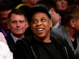 Jay-Z smiles as he sits courtside as the Los Angeles Lakers take on the Utah Jazz at Staples Center on April 13, 2016 in Los Angeles, California ©Harry How (Getty/AFP/File)