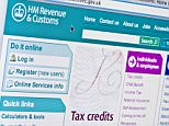 Close up of the HMRC logo as seen on its website. (Editorial use only:  print, TV, e-book and editorial website).  Revenue & Customes. Income tax form