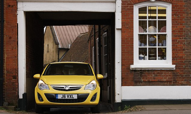 Vauxhall Corsa is the car most likely to have a chequered past