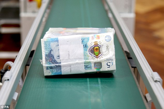 The polymer notes can be wiped clean of liquid and will be very difficult to tear, meaning they can survive a 90C cycle