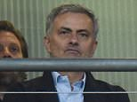 epa05342926 Manchester United new coach Jose Mourinho watches the International friendly soccer match England vs Portugal ahead of the UEFA EURO 2016 at Wembley Statidum in London, Britain, 02 June 2016.  EPA/FACUNDO ARRIZABALAGA