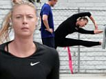 eURN: AD*208302731  Headline: EXCLUSIVE: Maria Sharapova goes for a grueling workout session with her trainer on the beach in Los Angeles Caption: 153097, EXCLUSIVE: Maria Sharapova goes for a grueling workout session with her trainer on the beach in Los Angeles.  Los Angeles, California - Wednesday June 01, 2016. Photograph: © , PacificCoastNews. Los Angeles Office: +1 310.822.0419 UK Office: +44 (0) 20 7421 6000 sales@pacificcoastnews.com FEE MUST BE AGREED PRIOR TO USAGE Photographer: PacificCoastNews Loaded on 02/06/2016 at 03:35 Copyright:  Provider: PacificCoastNews  Properties: RGB JPEG Image (6695K 263K 25.5:1) 1722w x 1327h at 72 x 72 dpi  Routing: DM News : GeneralFeed (Miscellaneous) DM Showbiz : SHOWBIZ (Miscellaneous) DM Online : Online Previews (Miscellaneous), CMS Out (Miscellaneous)  Parking:
