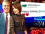 andy cohen birthday julianne moore bethenny frankel