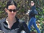 West Hollywood, CA - Courteney Cox has her hands full after rug shopping. Courteney looks comfortable in a black button up, blue jeans, and sandals as s he carries her new purchase down the street.\nAKM-GSI          June 2, 2016\nTo License These Photos, Please Contact :\nMaria Buda\n(917) 242-1505\nmbuda@akmgsi.com\nsales@akmgsi.com\nor \nMark Satter\n(317) 691-9592\nmsatter@akmgsi.com\nsales@akmgsi.com