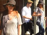 **EXCLUSIVE**  Blake Lively and Ryan Reynolds were spotted out in Tribeca on Wednesday , as they shopped for luxury apartments. After taking Cannes by a storm, Blake Lively enjoyed a casual day out with her husband, wearing jeans and a loose grey t-shirt. Her blossoming baby bump poked out just enough to see it as they headed into their SUV. She wore a wide brimmed hat and sunglasses to try and remain incognito.