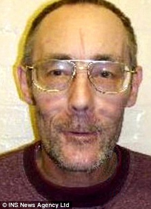 Bludgeoned: Geoffrey Reed suffered horrific injuries before he was buried in a shallow grave