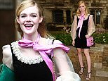 LONDON, ENGLAND - JUNE 02:  Elle Fanning attends the Gucci Cruise 2017 fashion show at the Cloisters of Westminster Abbey on June 2, 2016 in London, England.  (Photo by David M. Benett/Dave Benett/Getty Images for GUCCI)
