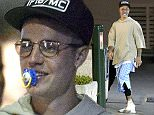 June 1st 2016 - St Tropez ****** Exclusive ****** Justin Bieber shows a smiling broadly with a baby pacifier in the mouth while enjoying some quality time during a night out with best friends Alfredo Flores and Nick DeMoura. ****** BYLINE MUST READ : © Spread Pictures ****** ****** No Web Usage before agreement ****** ******Please hide the children's faces prior to the publication****** ****** Stricly No Mobile Phone Application or Apps use without our Prior Agreement ****** Enquiries at photo@spreadpictures.com