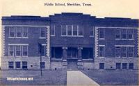 Public School, Meridian, Texas 1910s