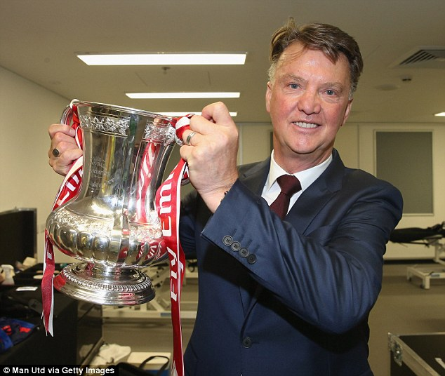 Louis van Gaal won the FA Cup but silverware has otherwise been lacking at Old Trafford since 2013