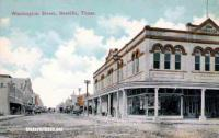 Washington Street, Beeville, Texas early 1900s