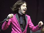Lead singer Bobby Gillespie of Primal Scream play the Pyramid Stage.  Glastonbury Music Festival,Worthy farm, Pilton, Somerset.   Pic Bruce Adams / Copy Unknown - 29/6/13 . REXMAILPIX.