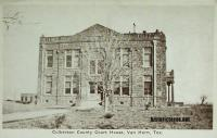 Culberson County Courthouse, Van Horn, Texas 1920s